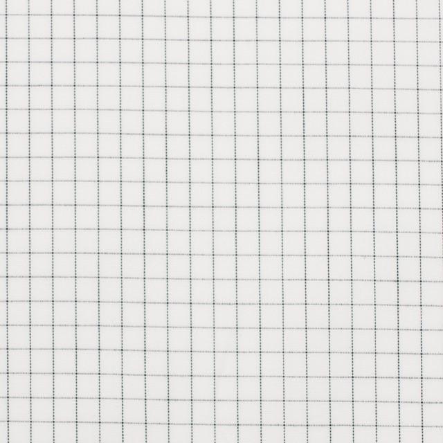 コットン×チェック(オフホワイト)×ブロード イメージ1