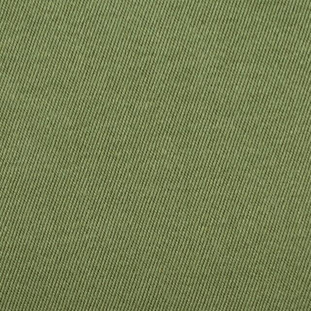 コットン&ナイロン×無地(カーキグリーン)×チノクロスワッシャー(裏面迷彩プリント) イメージ1
