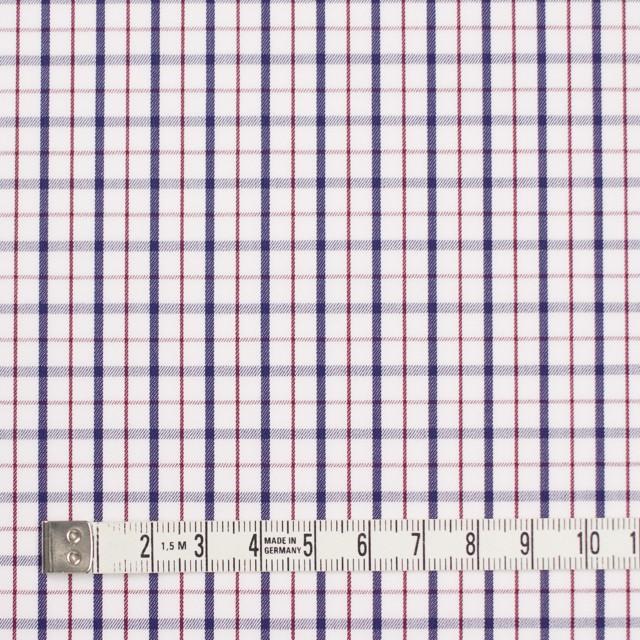 コットン×チェック(トリコロール)×サージ_イングランド製 イメージ4