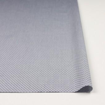 コットン×幾何学模様(シルバーグレー)×ドビー織_イタリア製 サムネイル3