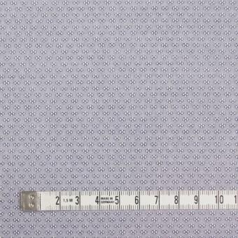 コットン×幾何学模様(シルバーグレー)×ドビー織_イタリア製 サムネイル4