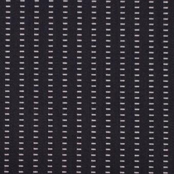 コットン×ストライプ(ブラック)×ドビーサテン
