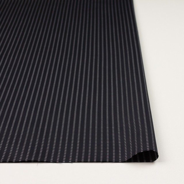 コットン×ストライプ(ブラック)×ドビーサテン イメージ3