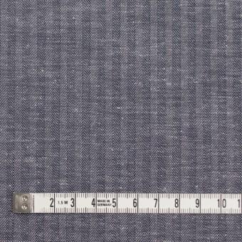 コットン&リネン×無地(ネイビー)×ヘリンボーン_全2色 サムネイル4