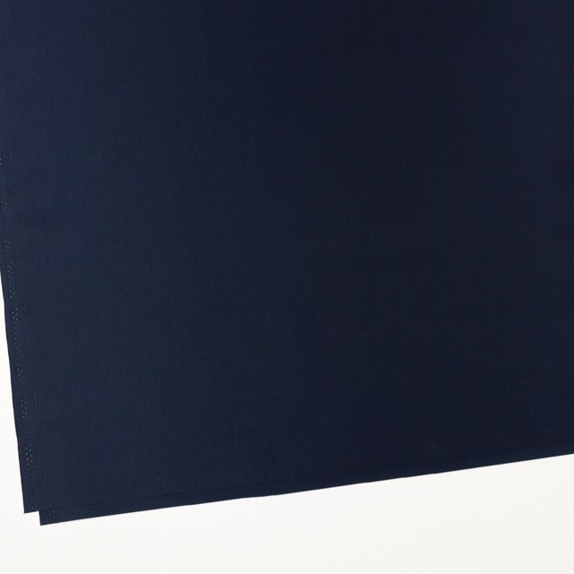 ポリエステル×無地(ミッドナイトブルー)×シャンブレータフタ_全6色 イメージ2