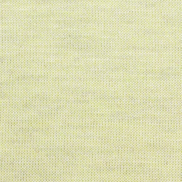 コットン&リネン混×無地(レモン)×天竺ニット_全3色 イメージ1