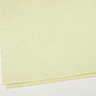 コットン&リネン混×無地(レモン)×天竺ニット_全3色 サムネイル2
