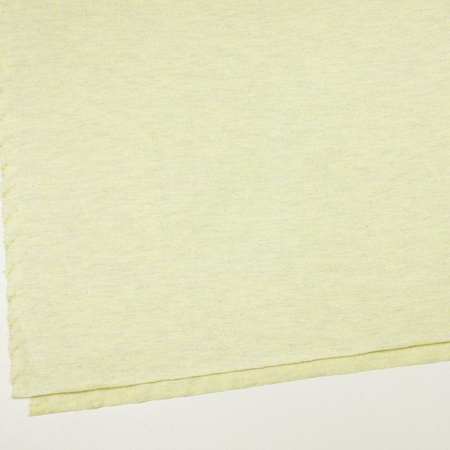 コットン&リネン混×無地(レモン)×天竺ニット_全3色 イメージ2