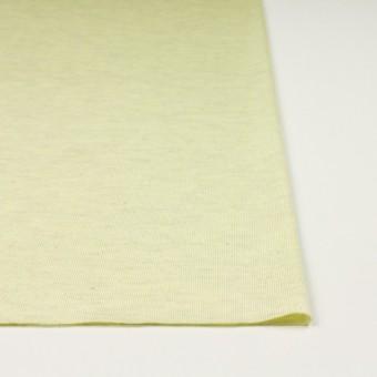 コットン&リネン混×無地(レモン)×天竺ニット_全3色 サムネイル3