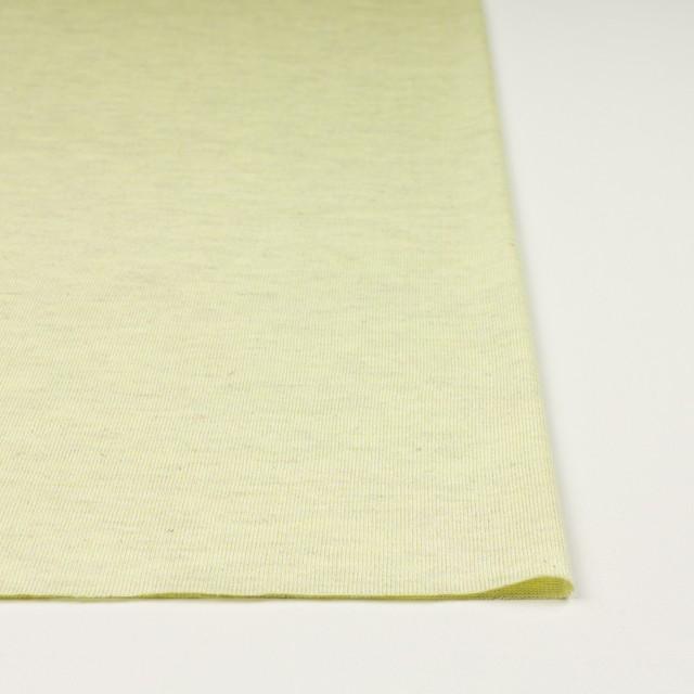 コットン&リネン混×無地(レモン)×天竺ニット_全3色 イメージ3