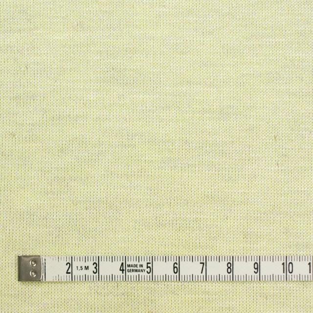 コットン&リネン混×無地(レモン)×天竺ニット_全3色 イメージ4