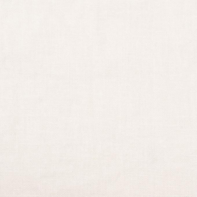 リネン&コットン×無地(オフホワイト)×シーチング_全36色 イメージ1