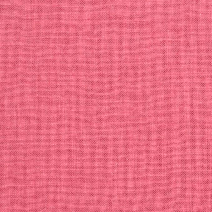 リネン&コットン×無地(コーラルピンク)×シーチング_全36色 イメージ1