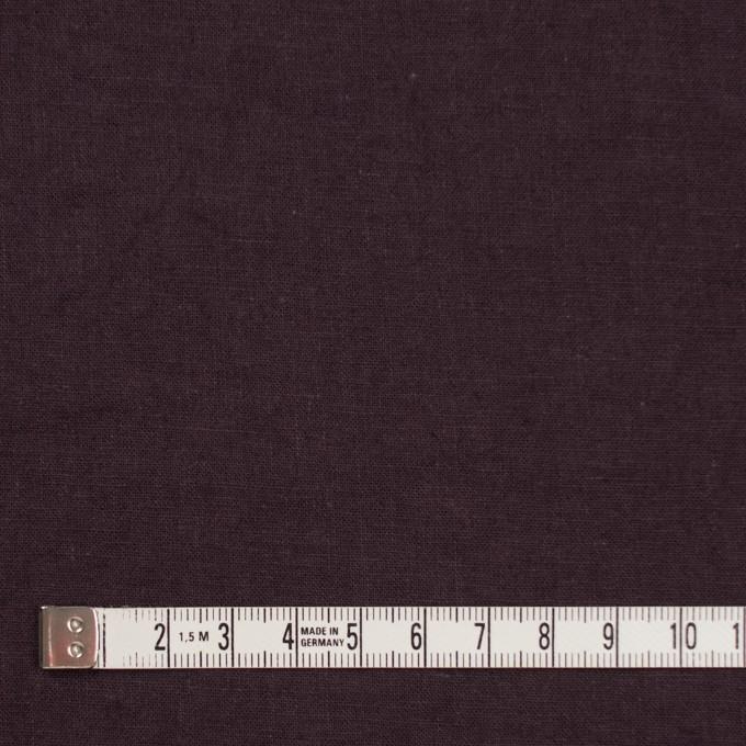 リネン&コットン×無地(プルーン)×シーチング_全36色 イメージ4
