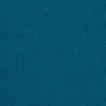 リネン&コットン×無地(ターコイズブルー)×シーチング_全36色 サムネイル1