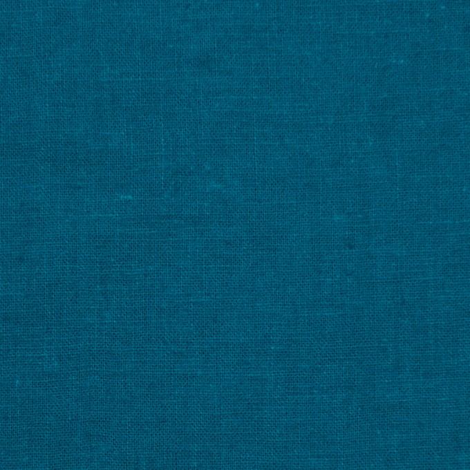 リネン&コットン×無地(ターコイズブルー)×シーチング_全36色 イメージ1