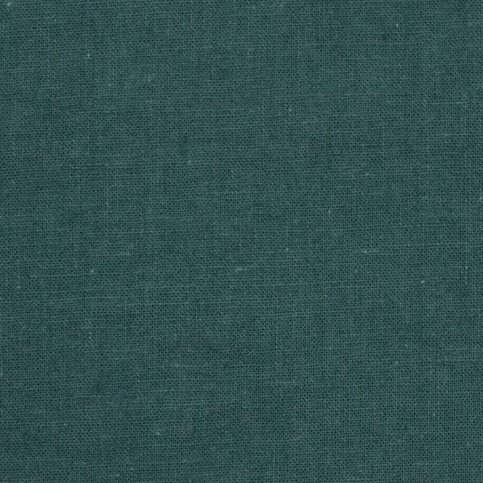 リネン&コットン×無地(スレートグリーン)×シーチング_全36色 イメージ1