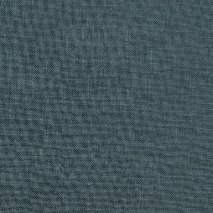 リネン&コットン×無地(スレートグレー)×シーチング_全36色 イメージ1