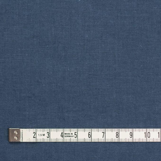 リネン&コットン×無地(ウィンターブルー)×シーチング_全36色 イメージ4