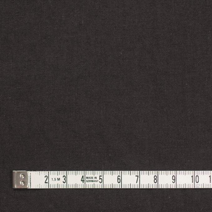 リネン&コットン×無地(ライトブラック)×シーチング_全36色 イメージ4
