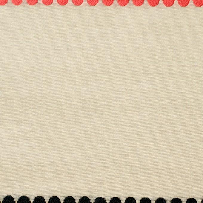コットン×ボーダー(レモンオレンジ)×ローンドビー イメージ1