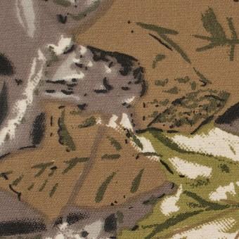 コットン×ジャングル(ダークミックス)×チノクロス サムネイル1