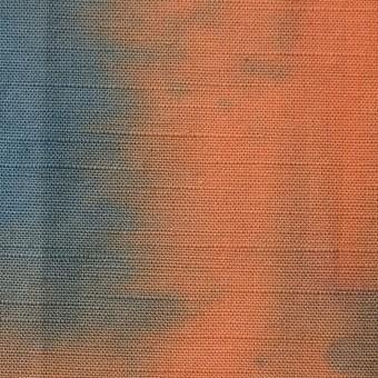 コットン×グラデーション(レンガ)×シーチング_全2色 サムネイル1