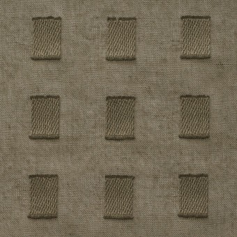 コットン×スクエア(カーキグリーン)×ボイルジャガード_全6色 サムネイル1