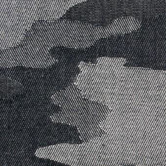 コットン×迷彩(グレーミックス)×デニムジャガード サムネイル1