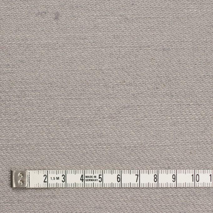 コットン&ジュート×無地(ライトグレー)×厚サージ_全3色 イメージ4