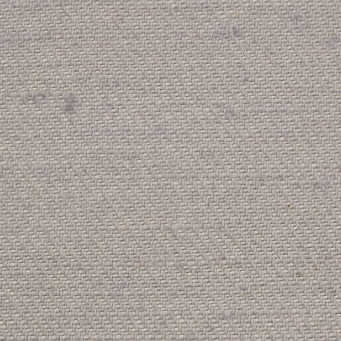 コットン&ジュート×無地(ライトグレー)×厚サージ_全3色 イメージ1