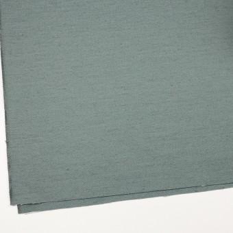 コットン&ジュート×無地(スレートグリーン)×厚サージ_全3色 サムネイル2
