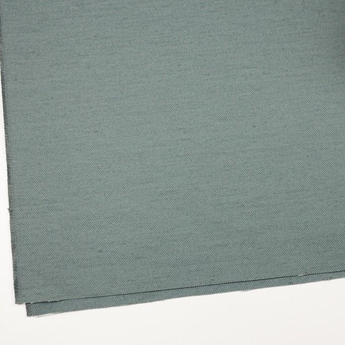 コットン&ジュート×無地(スレートグリーン)×厚サージ_全3色 イメージ2