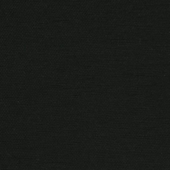 コットン×無地(ブラック)×厚オックスフォード_全3色 イメージ1