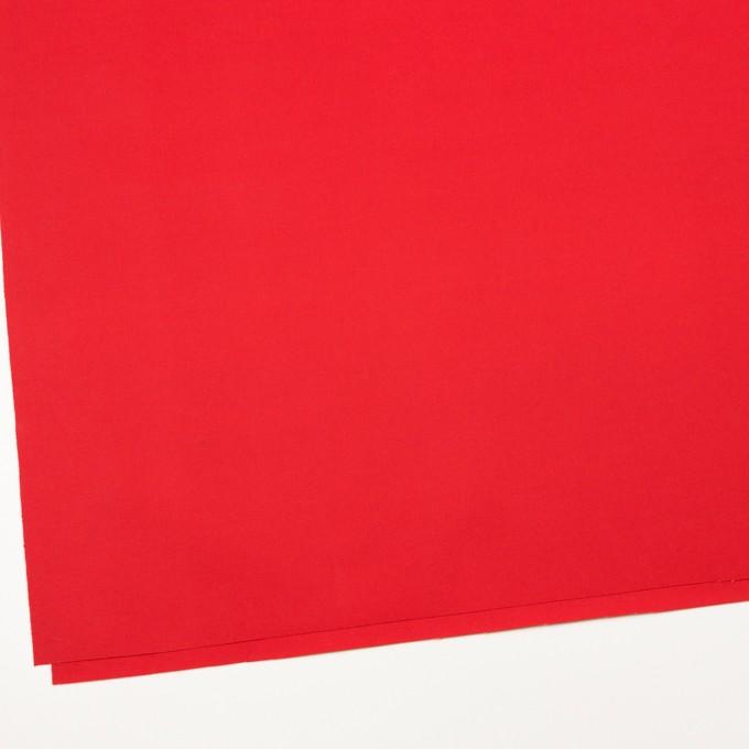 コットン×無地(パッションレッド)×ポプリン_全3色 イメージ2