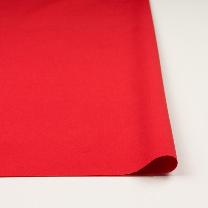 コットン×無地(パッションレッド)×ポプリン_全3色 イメージ3