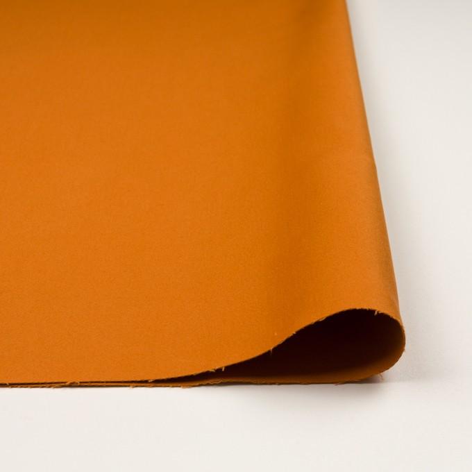 コットン×無地(オレンジ)×モールスキン_全6色 イメージ3