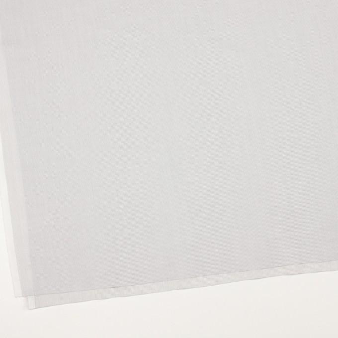 コットン&リネン×ストライプ(ライトグレー)×ボイル_全2色 イメージ2