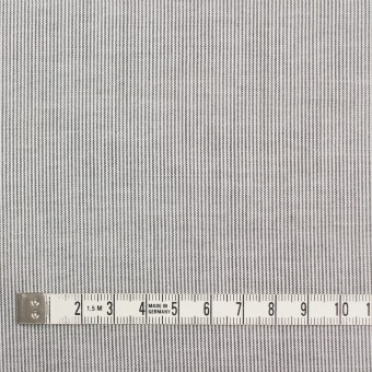 コットン&リネン×ストライプ(チャコール)×ボイル_全2色 サムネイル4