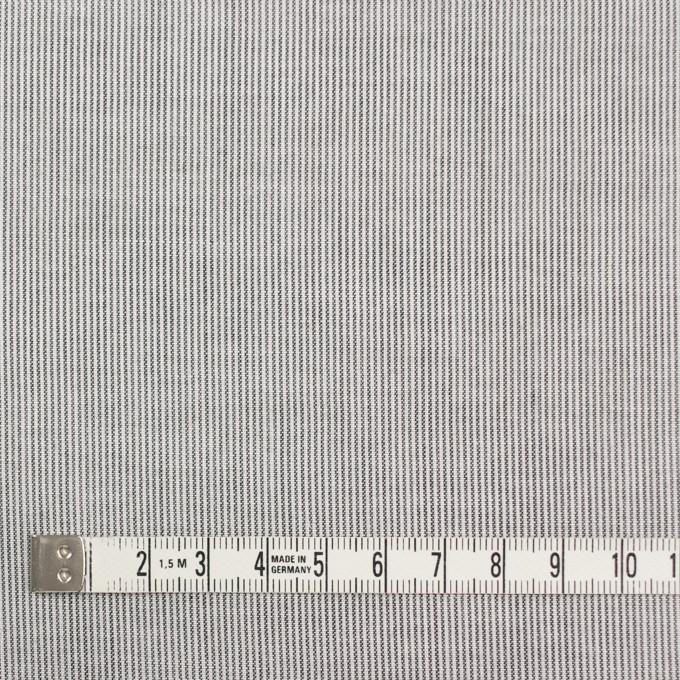 コットン&リネン×ストライプ(チャコール)×ボイル_全2色 イメージ4