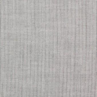 コットン&リネン×ストライプ(チャコール)×ボイル_全2色 サムネイル1