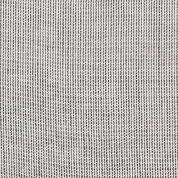 コットン&リネン×ストライプ(チャコール)×ボイル_全2色 イメージ1