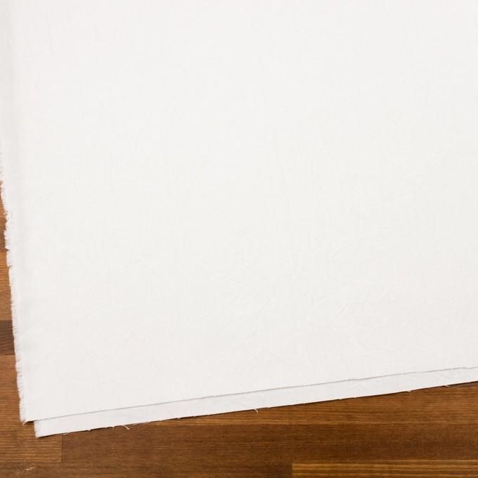 コットン&リネン×無地(ホワイト)×キャンバスワッシャー_全15色 イメージ2