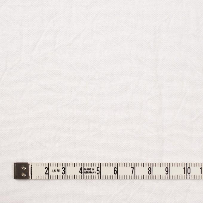 コットン&リネン×無地(ホワイト)×キャンバスワッシャー_全15色 イメージ4