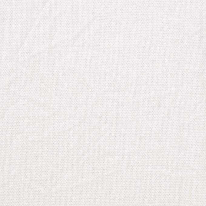 コットン&リネン×無地(ホワイト)×キャンバスワッシャー_全15色 イメージ1
