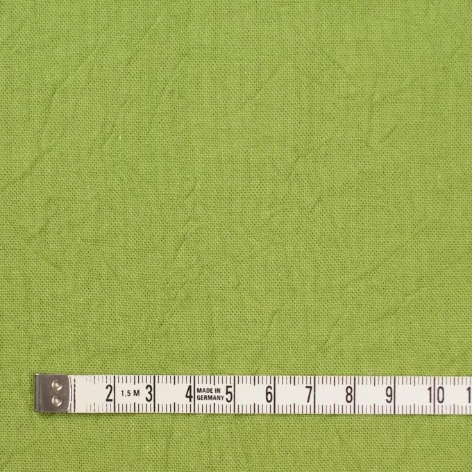 コットン&リネン×無地(ライム)×キャンバスワッシャー_全15色 イメージ4