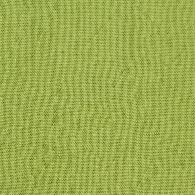 コットン&リネン×無地(ライム)×キャンバスワッシャー_全15色 イメージ1
