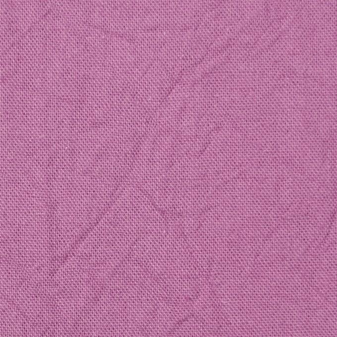 コットン&リネン×無地(モーブ)×キャンバスワッシャー_全15色 イメージ1