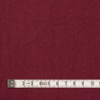 コットン&リネン×無地(ガーネット)×キャンバスワッシャー_全15色 サムネイル4