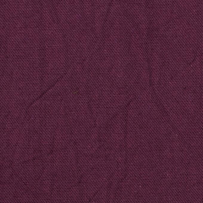 コットン&リネン×無地(プラムパープル)×キャンバスワッシャー_全15色 イメージ1